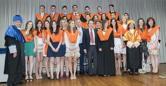 Graduation ceremony of the Master's Degree in SME Management
