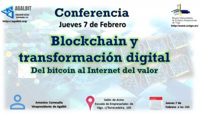 Charla sobre Blockchain