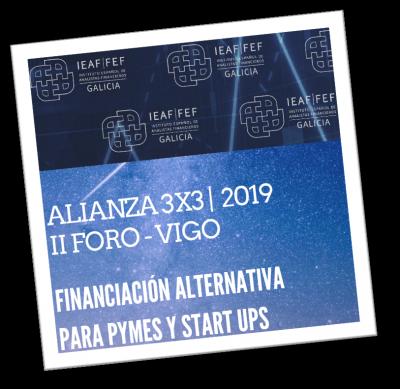 """Foro IEAF:  """"Financiación alternativa para pymes y startups"""""""