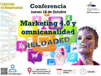 Conferencia sobre Marketing 4.0 y omnicanalidad