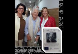 Actualidad - El Aula del Máster lleva el nombre de la pedagoga y fundadora del colegio Resalía de Castro, Antia Cal Vázquez