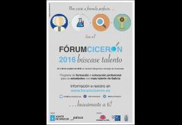 Actualidad - Forum Cicerón, una iniciativa en la que colaboran las tres Universidades gallegas y que está patrocinado por la Xunta de Galicia.