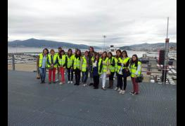 Actualidad - Visita al Puerto de Vigo