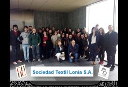 Actualidad - Visita a Textil Lonia S.A.